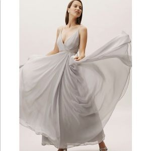 BHLDN Eva Dress in Fog